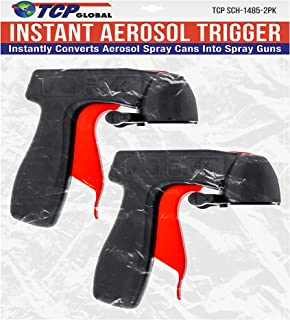 Instant Aerosol Trigger Handle (Pack of 2), Instantly Converts Spray Cans into Spray Guns..