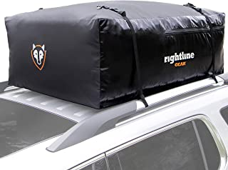 Rightline Gear Sport 3 Car Top Carrier, 18 cu ft, 100% Waterproof, Attaches With or..