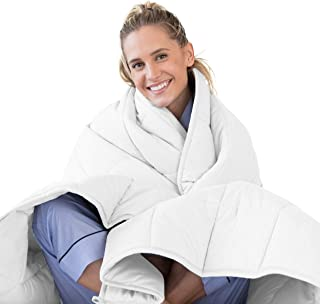 Luna Adult Weighted Blanket | Individual Use – 15 lbs – 60×80 –..