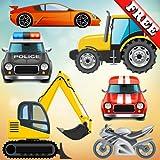 Véhicules et voitures pour les bambins et les enfants: jouer avec des camions,...