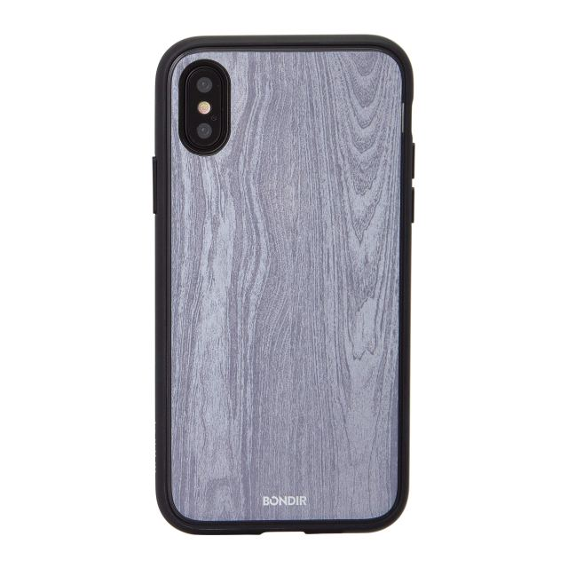 Bondir, Wood Grain (Glossy) Cell Phone Case [Military Drop Test Certified] for Apple (5.8