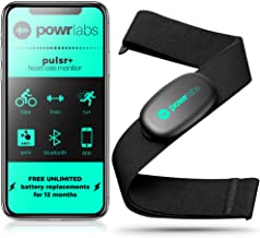 Powr Labs Heart Rate Monitor Chest Strap – ANT + Bluetooth Chest Heart Rate Monitor..