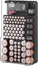 The Battery Organizer TBO1531 The Batt Storage Case with Hinged Clear Cover, Includes a..