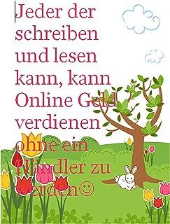 Organischer Gemüsegarten Onlineshop?: Jeder der schreiben und lesen kann, kann Online Geld verdienen ohne ein Händler zu werden (German Edition)