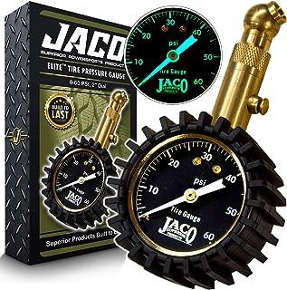 JACO Elite Tire Pressure Gauge – 60 PSI