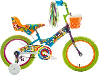 Titan Girl's Flower Power Princess BMX Bike Multi Color 16-Inch