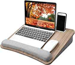 HUANUO Lap Laptop Desk – Portable Lap Desk with Pillow Cushion, Fits up to 15.6..