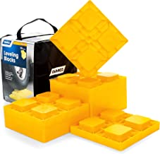 Camco 44510 Heavy Duty Leveling Blocks, Ideal for Leveling Single and Dual Wheels,..