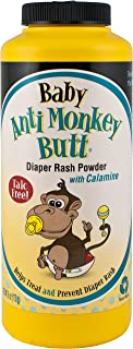 Anti Monkey Butt Baby Powder with Calamine – Prevents Diaper Rash and Absorbs..