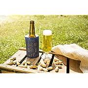 Vacu Vin Vacuvin 38545606 Refrigeratore Attivo Rapid Ice Cooler per Birra, plastica Gel, Estampado Azul, Unica