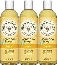 Burt's Bees Baby Bee Shampoo & Wash, 12 Fluid Ounces (Pack of 3)