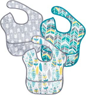 Bumkins SuperBib, Baby Bib, Waterproof, Washable, Stain and Odor Resistant, 6-24 Months,..