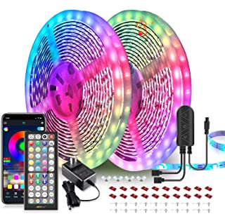 65.6ft LED Strip Lights, Ultra-Long LED Lights Strip Music Sync, App Control with Remote,..
