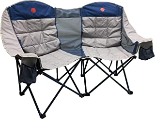 OmniCore Designs MoonPhase Home-Away LoveSeat Heavy Duty Oversized Folding Double Camp..