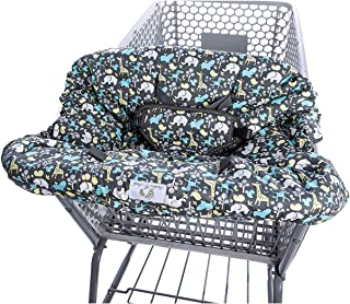 2-in-1 Shopping Cart Cover and High Chair Cover, Universal Fit, Ultra Plush, 100 Percent..
