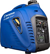 Westinghouse iGen2500 Portable Inverter Generator 2200 Rated & 2500 Peak Watts, Gas..