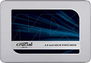 Crucial MX500 500GB 3D NAND SATA 2.5 Inch Internal SSD, up to 560MB/s – CT500MX500SSD1