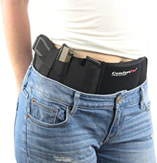 ComfortTac Ultimate Belly Band Holster for Concealed Carry | Fits Gun Smith and Wesson..