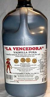 La Vencedora 1 Gallon 128 fl oz Pure Mexican Vanilla Vainilla Extract From Mexico