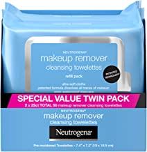 Neutrogena Makeup Remover Cleansing Face Wipes, Daily Cleansing Facial Towelettes to..
