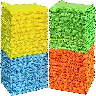 "50 Pack – SimpleHouseware Microfiber Cleaning Cloth (12"" x 16"")"