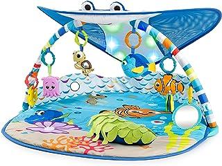 Bright Starts Disney Baby Finding Nemo Ray Ocean Lights & Music Gym, Ages Newborn +