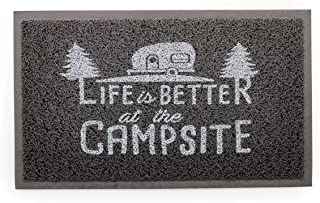 Camco Life Is Better at The Campsite Outdoor & Indoor Welcome Mat – Weather and..