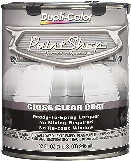 Dupli-Color EBSP30000 Clear Coat Paint Shop Finish System – 32 oz., Clear Gloss