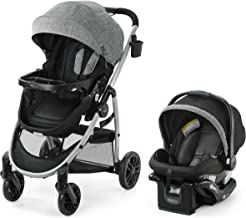 Graco Modes Pramette Travel System | Includes Baby Stroller with True Bassinet Mode,..