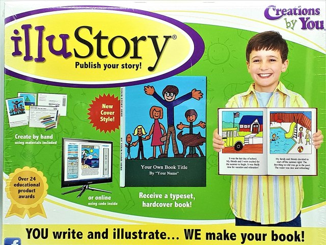 Illustory - Write and Illustrate Your Own Book Kit: Amazon.de
