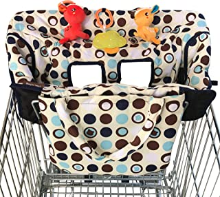 2-in-1 Croc n Frog Shopping Cart Cover and High Chair Covers for Baby Boy or Girl –..