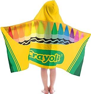Jay Franco Kids Hooded Towel Crayola