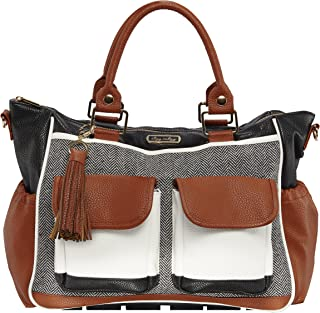 Itzy Ritzy Triple Threat Convertible Diaper Bag – Converts from a Tote to a Messenger..
