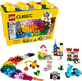 LEGO Classic Large Creative Brick Box 10698 Build Your Own Creative Toys, Kids Building..
