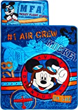 Disney Mickey's Toddler Rolled Nap Mat, Flight Academy