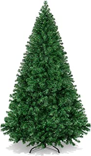 Best Choice Products 6ft Hinged Artificial Christmas Pine Tree Holiday Decoration w/Metal..