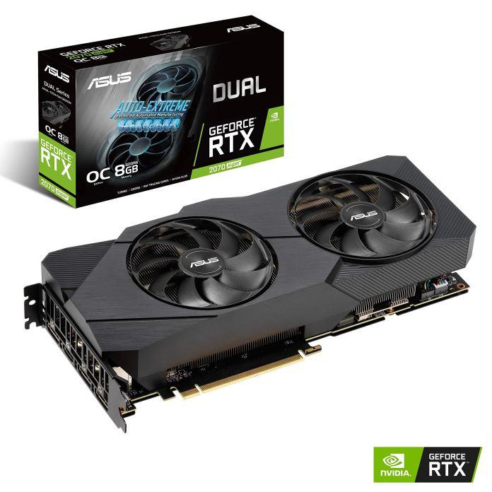 Amazon.com: Asus GeForce RTX 2070 Super Overclocked 8G EVO GDDR6 Dual-Fan Edition VR Ready HDMI DisplayPort Gaming Graphics Card (DUAL-RTX-2070S-O8G- EVO): Computers & Accessories