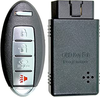 APDTY 00260 Replacement Keyless Entry Remote Key Fob Transmitter w/Auto Programming Tool..