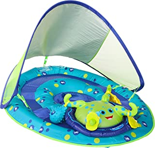 SwimWays Baby Spring Float Activity Center with Canopy – Inflatable Float for..