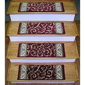 Amazon Com Rug Depot 159531 Traditional Oriental Non Slip Carpet | Oriental Carpet Stair Treads | Non Skid | Kings Court | Carpet Runners | Amazon | Stair Runner