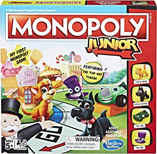 Hasbro Monopoly Junior Board Game Ages 5 and up (Amazon Exclusive)