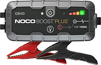 NOCO Boost Plus GB40 1000 Amp 12-Volt UltraSafe Portable Lithium Car Battery Jump Starter..