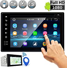 Double DIN Android Stereo Receiver – Car Head Unit System w/ Rear View Backup..