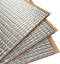 Siless 80 mil 36 sqft Car Sound Deadening mat – Butyl Automotive Sound Deadener..