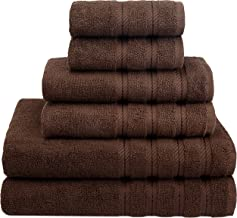American Soft Linen 6-Piece 100% Turkish Genuine Cotton Premium & Luxury Towel Set..
