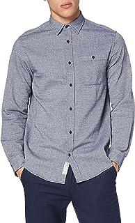 Jack & Jones Jjbarret Shirt LS Camisa para Hombre