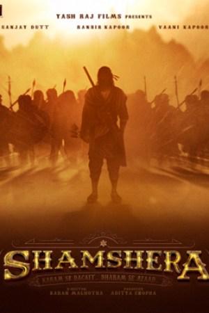 Upcoming Bollywood Movie Shamshera First Look Poster New