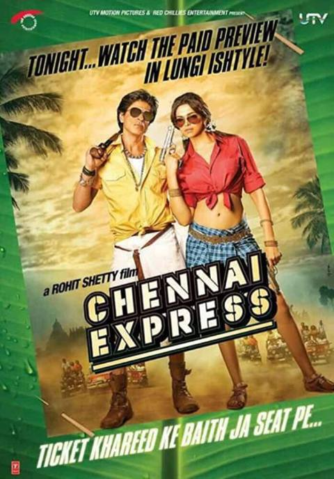 Download Chennai Express (2013) Hindi Full Movie BluRay 480p [400MB] | 720p [1.4GB]