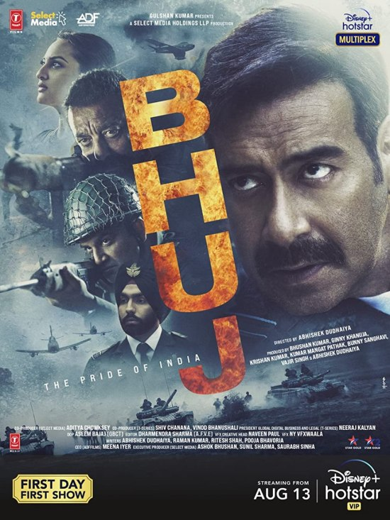 Download Bhuj The Pride Of India 2021 Hindi Movie Official Trailer 1080p HDRip
