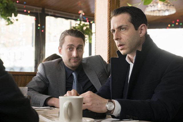 Kieran Culkin and Jeremy Strong in Succession (2018)